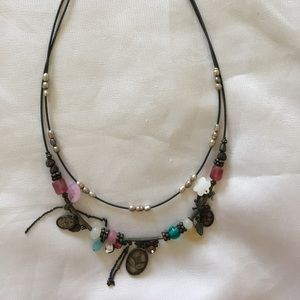 Eclectic American Eagle necklace